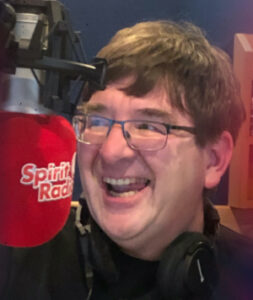 Kieran Carrick presenter on Spirit Radio